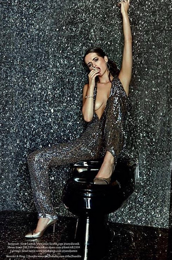 Xiox Magazine 's latest editorial Featuring a magnificent jumpsuit by our designer from Germany  Anya Liesnik  and shoes from our Japanese designer  Limit till 2359 . Styled by  Jen Summers   Fashion Provided By  #IvanBittonStyleHouse
