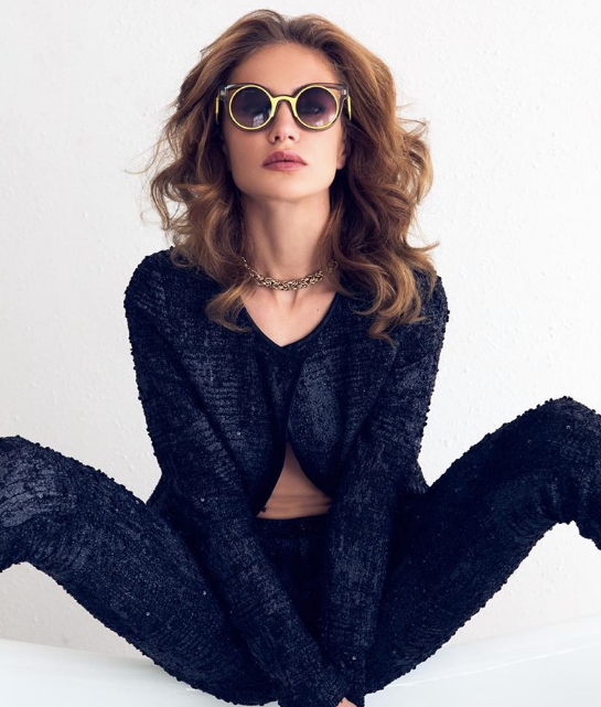 National Billboard Campaign Alert!  PERVERSE sunglasses  new advertising using a pair of pants and a jacket from our Chic Parisian Designer  Alexia Klein  and a necklace also by another of our French Designer  Amalia Mattaör  Styled By  Alan Montes   Fashion Provided By  #IvanBittonStyleHouse
