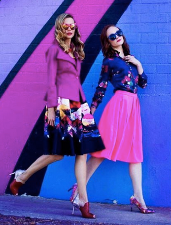 @promomag magazine featuring our Amazing Hong Kong Designer  ZIZTAR 's skirt, our South Korean @bboob jacket, our British designer  Sophie Cameron Davies 's shirt and shoes by our Japanese designer  Limit till 2359 . Styled By  #TeamBitton   Veronica Baca  and  Azzy Marks   Fashion Provided By  #IvanBittonStyleHouse