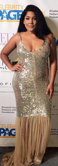 MTV  star  Lornalitz Baez  is looking Oh so Glamorous at the  Celebrity Page TV  red carpet in Hollywood wearing a dress from Our Amazing German Designer  Anya Liesnik . Styled By @Alexus Gregg  Fashion Provided By  #IvanBittonStyleHouse