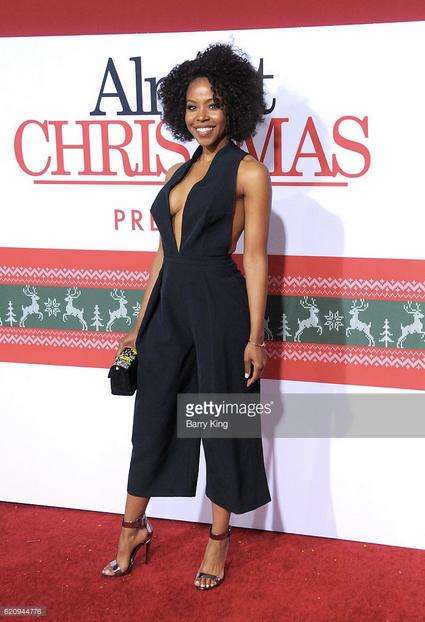 OWN: Oprah Winfrey Network 's actess  KJ Smith  from Hit show  Queen Sugar  is looking effortlessly chic in a Jumpsuit by our amazing German Designer  Marcell von Berlin  and a clutch from our Italian designer  Ottaviani .  Styled By  Vic Styles . Fashion Provided By  #IvanBittonStyleHouse