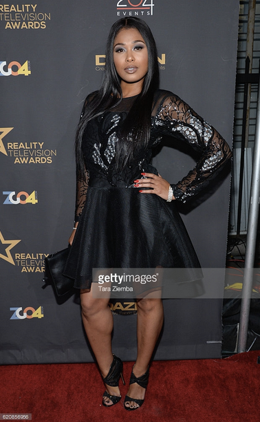 VH1  star  Althea Heart  from  Love and Hip Hop  is looking exquisite in a lovely ensemble from our Dubai designer  Shefali Couture  at the  Reality TV Awards  this week end .styled by @freshprinceola .  Fashion Provided By  #IvanBittonStyleHouse