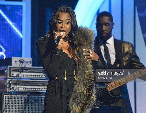 Singing Sensation @candice boyd performing Live at the  2016 Soul Train Music Awards  wearing our Korean jewelry designer  Sambac Jewelry  . Styled by  Icon Billingsley    Fashion Provided By  #IvanBittonStyleHouse