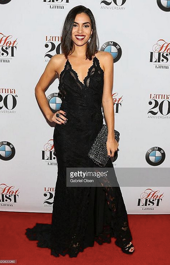 Hulu  star  Andrea Sixtos  from Hit show  East Los High  is stunning in a dress by French Designer @balensi Styled by  Oliver Styles .  Fashion Provided By  #IvanBittonStyleHouse
