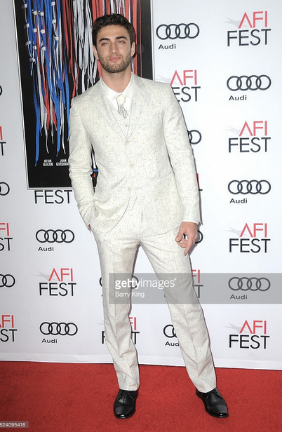 Oscar Buzz alert!  Mark Wahlberg 's co star  Themo Melikidze  from upcoming mega buzzing new film  Patriots Day  is looking hunky in a shirt from our American designer  Barabas Men  and a tie from our French designer  Maison F  at the  Lionsgate 's screening event in Los Angeles. Styled By  #TeamBitton   Leisa Balfour   Fashion Provided By  #IvanBittonStyleHouse