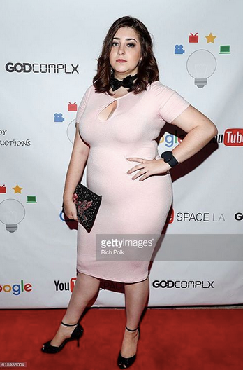 Actress  Shayna Spielman  from  YouTube  new Hit show @godcomplx at the  Google  presentation of the show with a Clutch from our Italian designer  Ottaviani  and a bow tie by our French designer  Maison F .  Styled by AmbiKa   Fashion Provided By  #IvanBittonStyleHouse