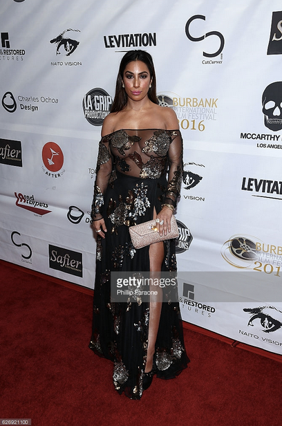 Actress  Liana Mendoza  from Hit show  American Horror Story  gracing the red carpet of  #BetterCriminal  Premiere last night in Hollywood wearing a dress from our designer from Bangladesh  ZOAN ASH , paired with a clutch from our Italian designer  Ottaviani , and gorgeous jewelry by our American designer  Sambac Jewelry . Styled by  #TeamBitton   Brandie Costello  and @sarah li   Fashion Provided By  #IvanBittonStyleHouse