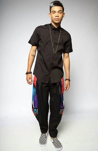 Disney  star  Roshon  is serving us Swag with a pair of pants from our British designer  Clon8  and a pendant from our jewelry designer from Italy  Keep Out  in this Press editorial. Styled By @Otheezystyled. Fashion Provided By  #IvanBittonStyleHouse