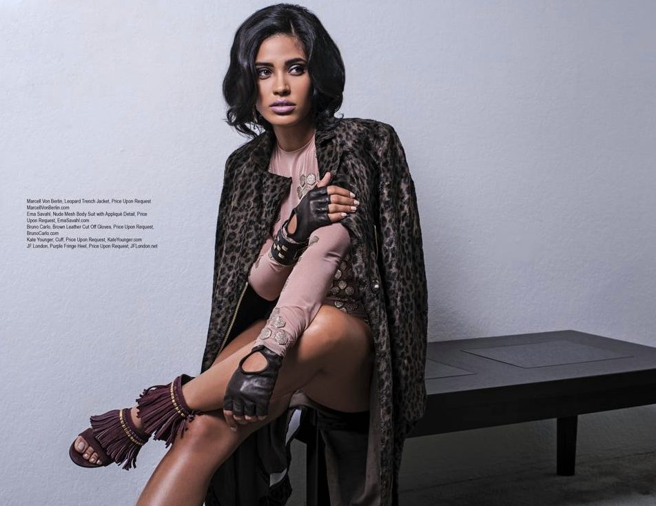 Adam Brody 's co star @ottmaramarrero from TV show  StartUp  is looking gorgeous in this editorial for  Regard Magazine  wearing a magnificent coat from our German designer  Marcell von Berlin . styled by  AmbiKa Sanjana .  Fashion Provided by  #IVanBittonStyleHouse
