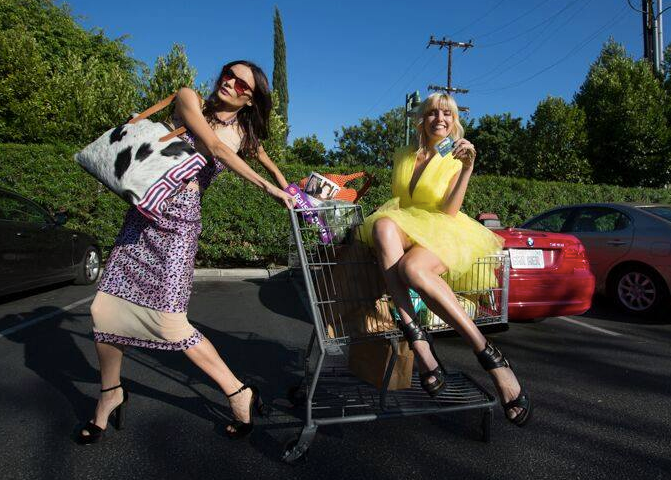 """Behind the scenes with the two Russian supermodels and star of upcoming Reality tv show """"Model Mum""""  Kira Dikhtyar  and  Eugenia Kuzmina  wearing a yellow dress by our German designer  Marcell von Berlin , a long dress by our American designer and  Project Runway  contestant  Kelly Dempsey , sunglasses by our Japanese designer  A.D.S.R.  and a bag from our Colombian designer @kadina Styled by  #TeamBitton   Brandie Costello .  Fashion provided By  #IvanBittonStyleHouse"""