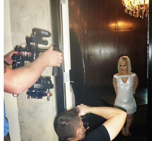 Behind the scenes with  Terra Jole' - Little Women: La  who also stars on  Dancing with the Stars  posing for the cameras of  Amaré Magazine  in a dress from our German designer  Anya Liesnik .  Fashion and styling Provided by  #IvanBittonStyleHouse . with  #TeamBitton   Horacio Aguilar .