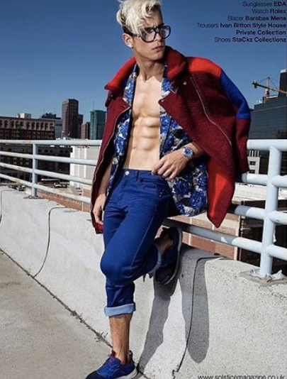 UK's  Solstice Magazine  latest editorial featuring Our American designer  Barabas Men  and our Hong Kong Designer  ZIZTAR .  styled by  Winnie T. Stackz . Fashion Provided By  #IvanBittonStyleHouse