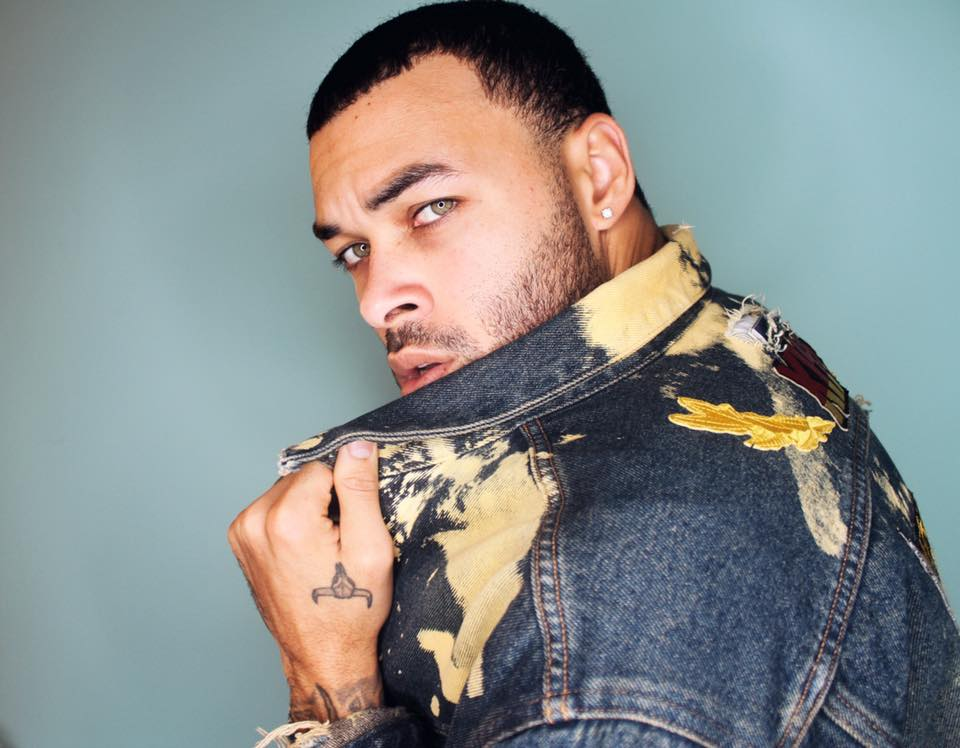SPOTTED!  America's Next Top Model  winner and singing superstar  Don Benjamin  wearing a denim jacket by our American designer  Yero Brown .  Fashion Provided by  #IvanBittonStyleHouse