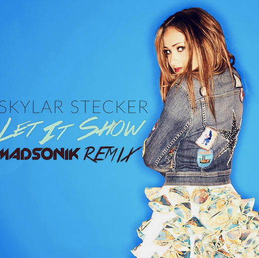 Skylar Stecker  's Christmas album is here by the way!! her latest album cover featuring a skirt by our designer from Dubai   Canella Hostal  . styled by   Alan Montes  . Fashion Provided by   #IvanBittonStyleHouse