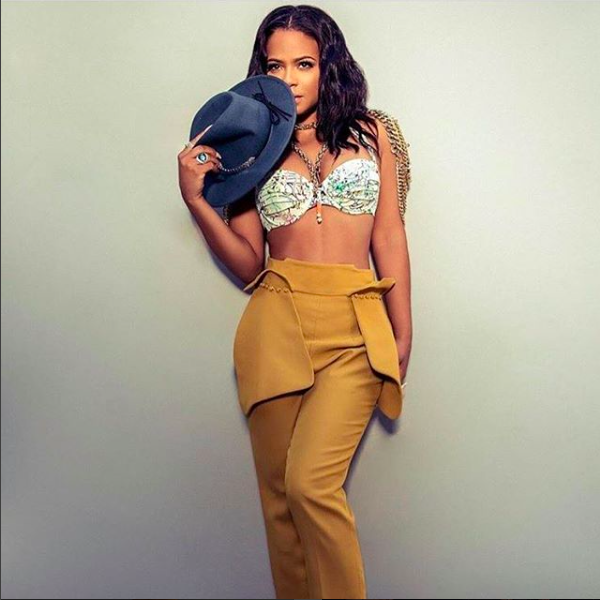 Superstar  @christinamilian for  @maximmag wearing pants from our Indonesian designer  @laisonbyaurelias , a shoulder piece by our French designer  @amalia_mattaor and jewelry by our American designer  @sambacjewelry Styled by  @ejking21 . Fashion provided by  #ivanbittonstylehouse