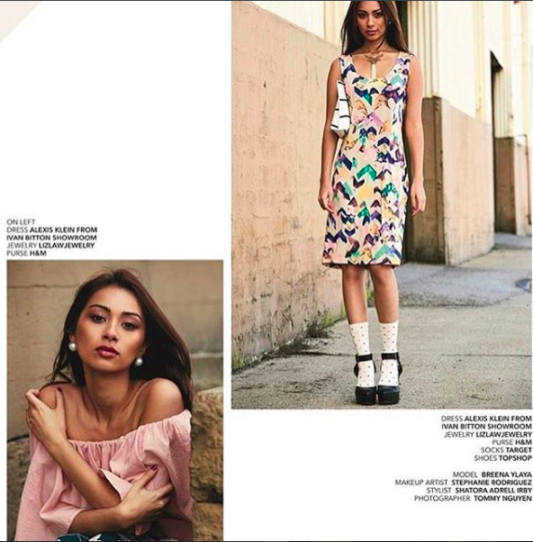 @pumpmagazine new edition featuring our French designer  @alexia_klein . Styled by  @shatora.adrell . Fashion Provided by  #ivanbittonstylehouse