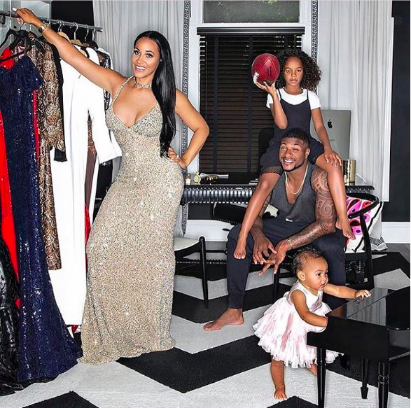 Sneak peek from Fashion editorial coming up soon starring  @ashleynorthstyle & family wearing our designers ✨ #dress made by our American designer  @nicolebakti styled by  @thestyleguyla fashion provided by  #ivanbittonstylehouse  #ootd  #fashiondesigner  #celebritystyle