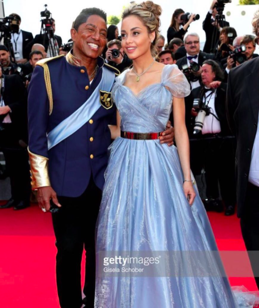 Breaking news! @officialjermainejackson arrives at the  @cannes2017 with his beautiful GF Maday Velazquez. Both are wearing fashion custom made by our German designer  @marcellvonberlin couture !!❤️❤️ available at  #ivanbittonstylehouse