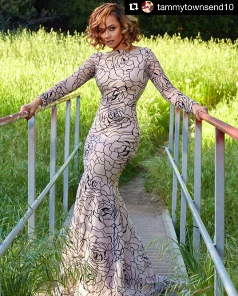 @disneychannel star  @tammytownsend10 strikes this fashion editorial wearing our designers ✨dress made by our designer from Barbados 🇧🇧 @sgshannagall styled by  @onlynemostyles fashion provided by  #ivanbittonstylehouse  #ootd  #fashionstylist  #fashiondesigner  #celebritystyle