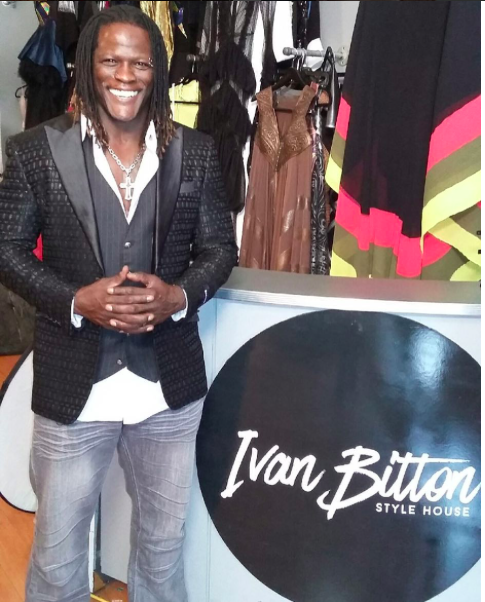 Hang on Tight!  @wwe superstar and legendary champion  @ronkillings1  is in the House! Wearing a jacket by our Designer  @barabas_men  for an upcoming editorial for  @mwmagofficial styled by  #teambitton   @leisastylediva Fashion Provided by  #ivanbittonstylehouse