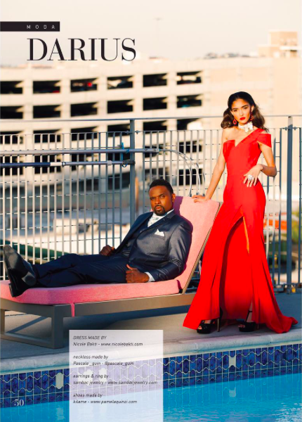 """King Darius"" fashion editorial Done for Italian magazine  @liveinmagazine  starring actor  @dariusmccrary  &  @nadiyakhan  wearing our designers ✨  @pascale_guin  @nicolebakti   @kilame   @sambacjewelry  @barabas_men  fashion styled by  #teambitton   @leisastylediva  creative director  @aarongomezp  assistant  @traveln.style  hair by  @stylezbylondonartistry  make up by  @karinasilva_mua  from  @michaelvincentacademy  special thanksnto  @anotherstudio.la  photo by  @sidranephoto fashion provided by  #ivanbittonstylehouse  #ootd  #fashionstylist  #fashiondesigner  #actor  #movie  #hollywood"