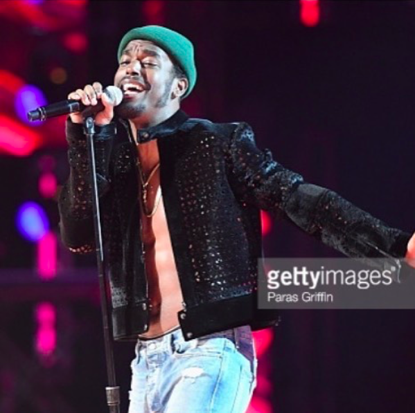 Breaking news! Two time Grammys nominated  @wolfjames  from  @bet  hit show  #neweditionbet  performing live at the  @bet  awards in a jacket by our Indian designer  @sidtytler  Styled by  @neishea  Fashion Provided by  #ivanbittonstylehouse