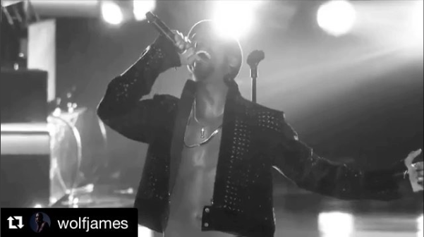 @wolfjames slaying the stage at the  @bet awards wearing our designers ✨ #jacket by  @sidtytler styled by  @neishea fashion provided by  #ivanbittonstylehouse  #ootd  #bet  #neweditionbet  #stage  #singer  #actor  #grammys