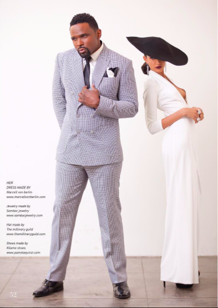 fashion editorial Done for  @liveinmagazine  starring  @dariusmccrary  &  @nadiyakhan  wearing our designers  @marcellvonberlin  @sambacjewelry   @kilame  @themillineryguild  styled by  @leisastylediva  @aarongomezp  photo by  @sidranephoto fashion provided by red by  #ivanbittonstylehouse  #ootd  #editorial  #cover  #gowns  #actor  #series  #movies  #interview