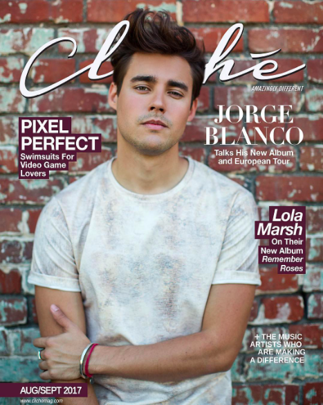 Cover editorial Done for  @clichemag  starring very handsome actor  @jorgeblanco  wearing our designers ✨  @barabas_men  styled by  @yesenia_style fashion provided by  #ivanbittonstylehouse  #ootd  #style  #magazine  #cover  #singer  #cliche  #fashiondesigners