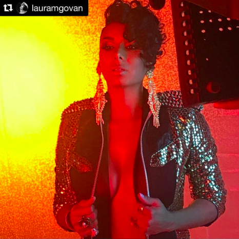 Spotted 📸 the fierce  @vh1 tv star  @lauramgovan looking amazing wearing our designers ✨ @kaptainofhollywood  @sambacjewelry  @bangslove  @faitmainhandmade  @feliceartcouture styled by  #teambitton  @aarongomezp  @faithnmyfashion fashion provided by  #ivanbittonstylehouse photography by  @michaelvincentacademy  #ootd  #style  #fashiondesigners  #magazine  #vh1  #tv  #celebrity