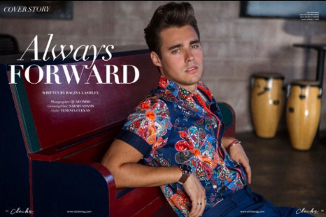 @disney  superstar turned pop icon  @jorgeblanco  looking super sharp in a shirt by our designer  @barabas_men  for  @clichemag  Styled by  @yesenia_style  Fashion Provided by  #ivanbittonstylehouse