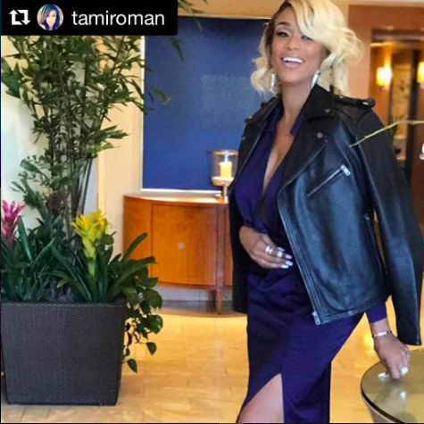 Spotted📸 Tv star  @tamiroman looking super chic wearing our designers ✨jewelry made by  @sambacjewelry styled by  @icontips fashion provided by  #ivanbittonstylehouse  #ootd  #style  #tvstar  #tvshow  #fashiondesigner  #jewelry