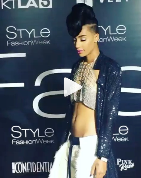 @foxtv Star from hit show 'Empire' @empirefox  @azmarieofficial strikes the style fashion week red carpet in Los Angeles wearing our designer from Barbados  @sgshannagall and from Japan  @keiichirosense and from Colombia  @liquidmetalcollection styled by  #teambitton  @aarongomezp  @bbydddy fashion provided by  #ivanbittonstylehouse  #fashiondesogners  #style  #magazine  #rescarpet