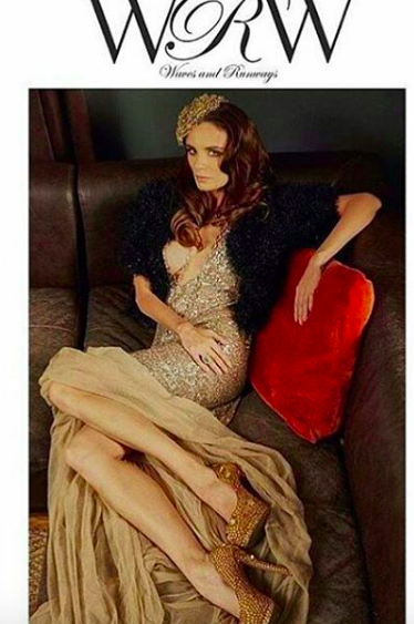Cover! The gorgeous Russian top model  @kiradikhtyar giving it all for the cover of  @wavesandrunways in a dress by our German designer  @anyaliesnik , jewelry by our designer  @sambacjewelry and our Dutch designer  @maukevjewelry , shoes by our Italian designer  @kilame Styled by  @pamelaquinzi Fashion