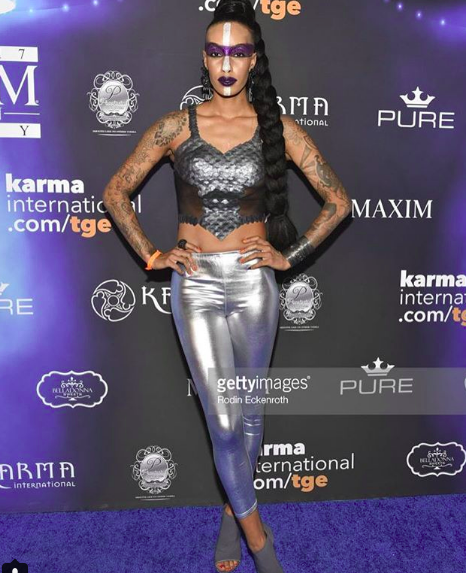 Spotted at the  @maximmag red carpet! @foxtv actress from hit show  @empirefox  @azmarieofficial wearing our designers  @danrichters styled by  #teambitton  @ania_sari