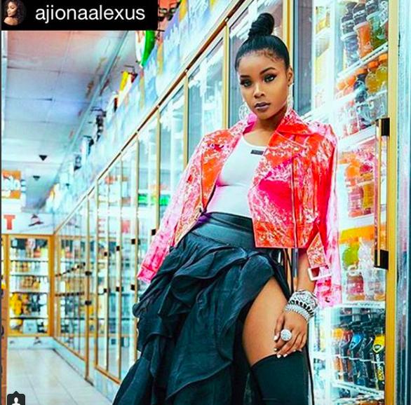 Fabulous fashion editorial starring  @13reasonswhy actress  @ajionaalexus wearing our jewelry @sambacjewelry styled by  @icontips
