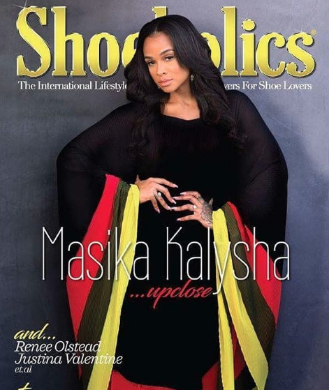 Cover fashion editorial for  #shoesholic  magazine featuring tv star  @masikakalysha  wearing our fabulous designers  @nuofficial  @bangslove  styled by  @xojaynedo  fashion provided by  #ivanbittonstylehouse  #fashion  #tvstar  #style  #magazine  #celebrity #
