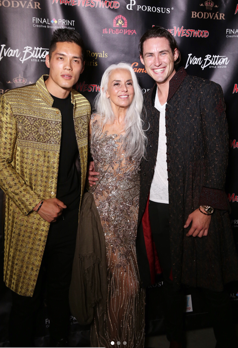 "Spotted at the  @mariewestwoodmag  ""bold and gorgeous"" release party  @kyliejenner  bodyguard to the stars and super model  @timmm.c  new face of  @tjmaxx  super model  @yazemeenah  and the fun model  @thetommybriggs  wearing our designers  @amiradnanofficial  and  @hayariparis  fashion and style provided by  #ivanbittonstylehouse  #style  #fashion  #celebrity  #magazine"