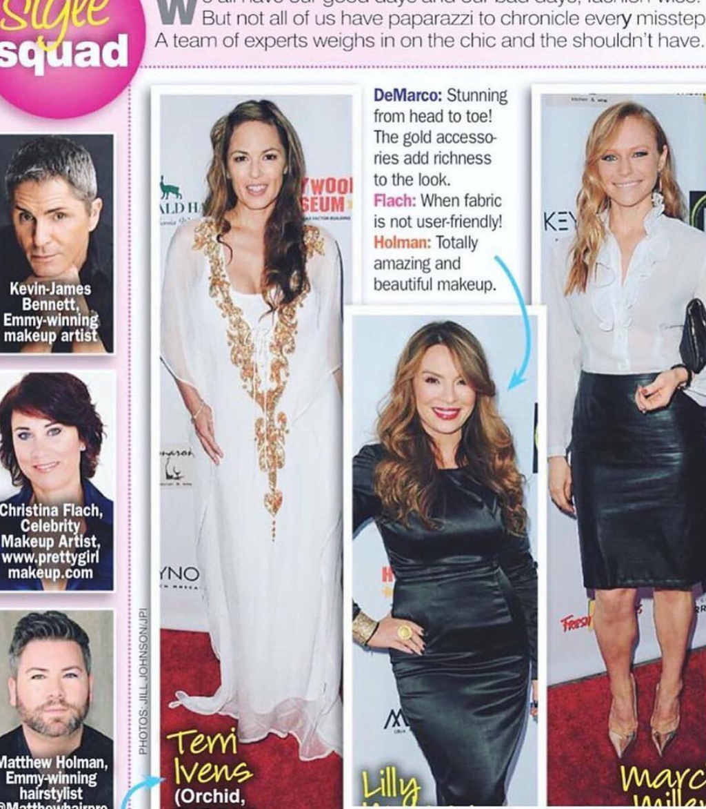 Spotted on the best dressed list  #emmy  award winning actress  @lillymelgarofficial  rocking our jewelry designer  @sambacjewelry  fashion and style provided by  #ivanbittonstylehouse  #style  #fashiondesigner  #style  #celebrity