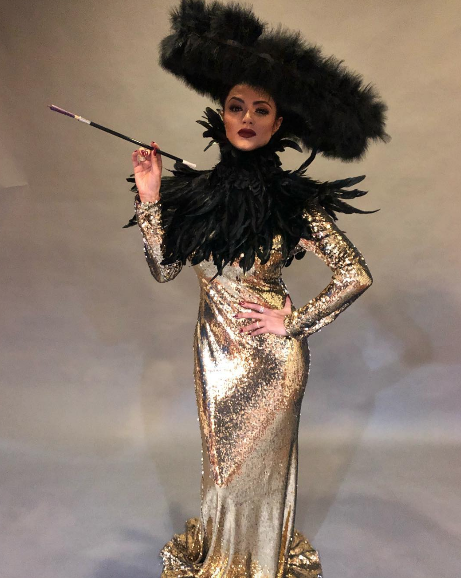 #bts  with  @bravotv star  @gg_golnesa  from hit show  #shahsofsunset  shooting for  @mariewestwoodmag  wearing a feather piece and hat by our designer  @novoselsavic  and a dress by our designer  @theroyalsparis  Styled by  @ivanbitton  @yahelhaiem  and  @tori_jeannine_xoxo Produced by  @aarongomezp  Fashion provided by  #ivanbittonstylehouse