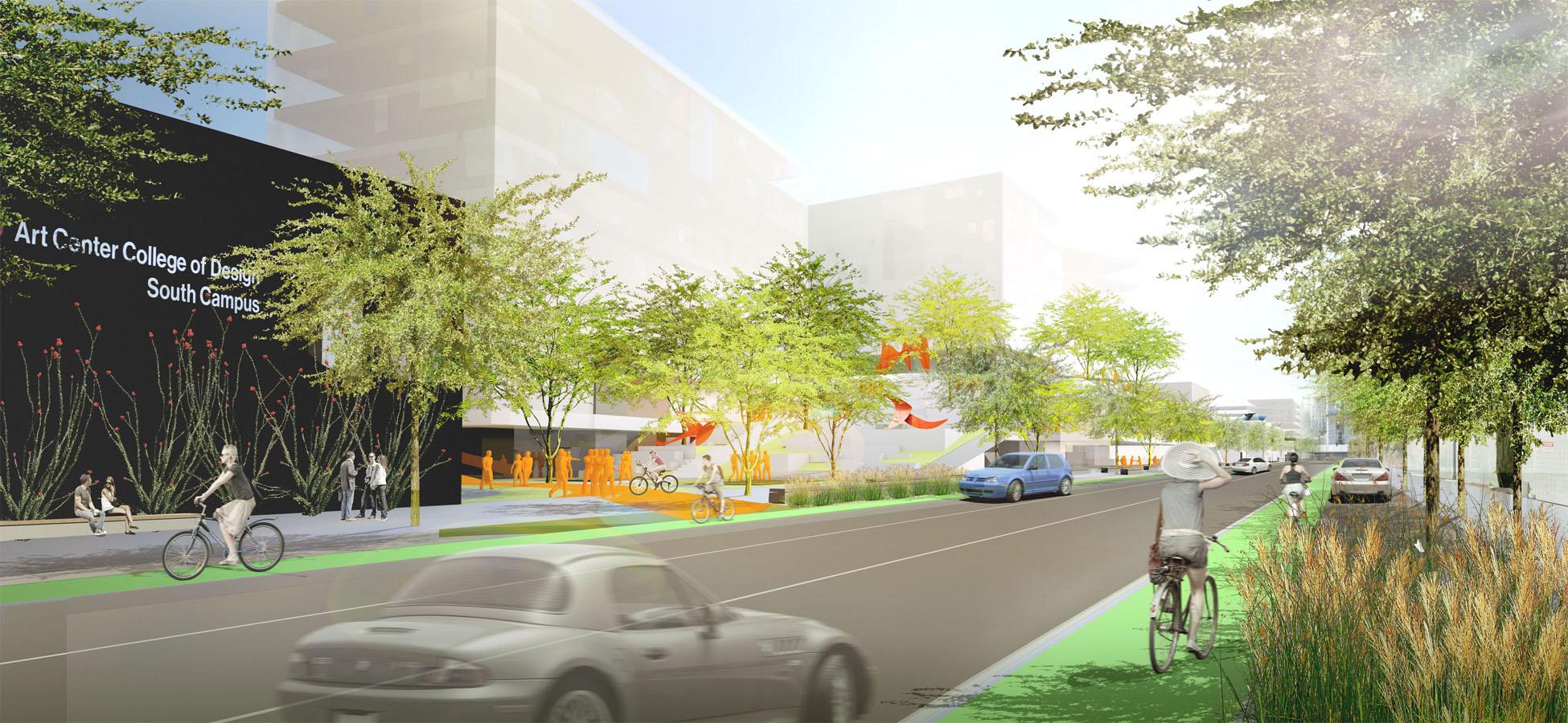 TINA CHEE landscape studio_ArtCenter College of Design Masterplan_Raymond Ave.jpg