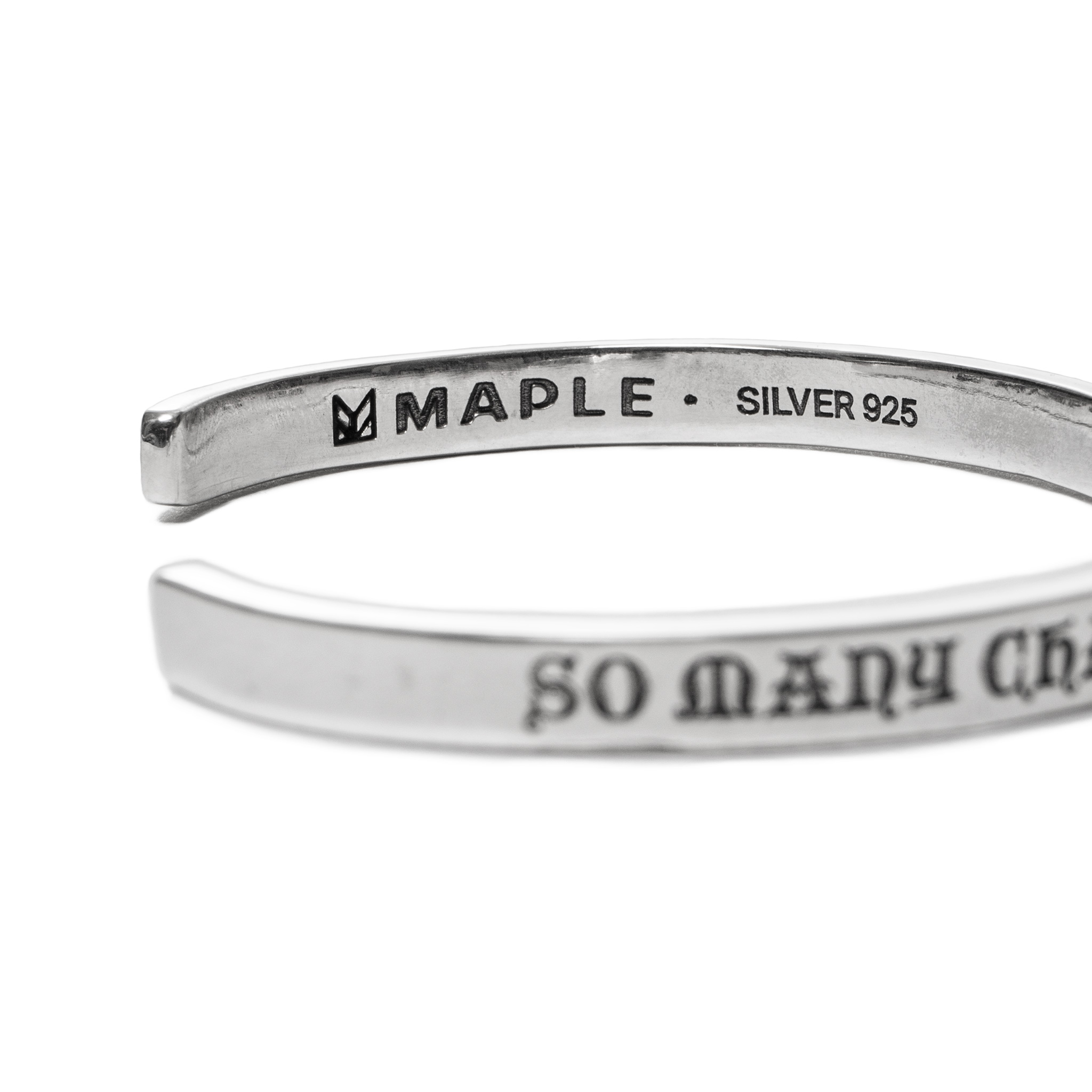 MAPLE-x-BEAMS-So-Many-Changes-Front-Bangle-Silver-2.jpg