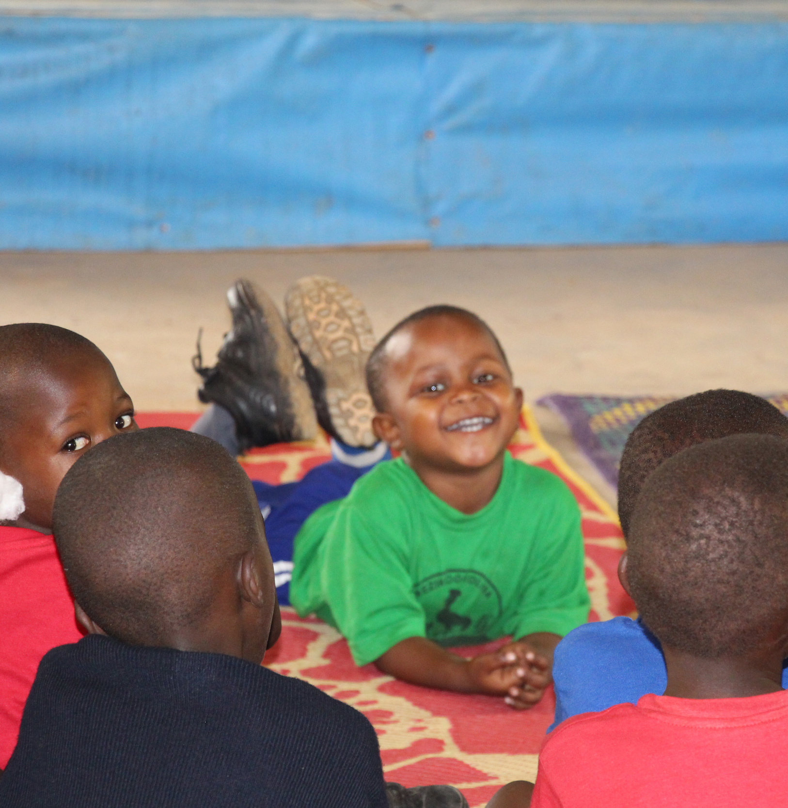 Meet Ricky, our chubby faced, cheeky 3-year-old munchkin. Little Ricky is about as entrenched in the Katuuso community as anyone could possibly be!