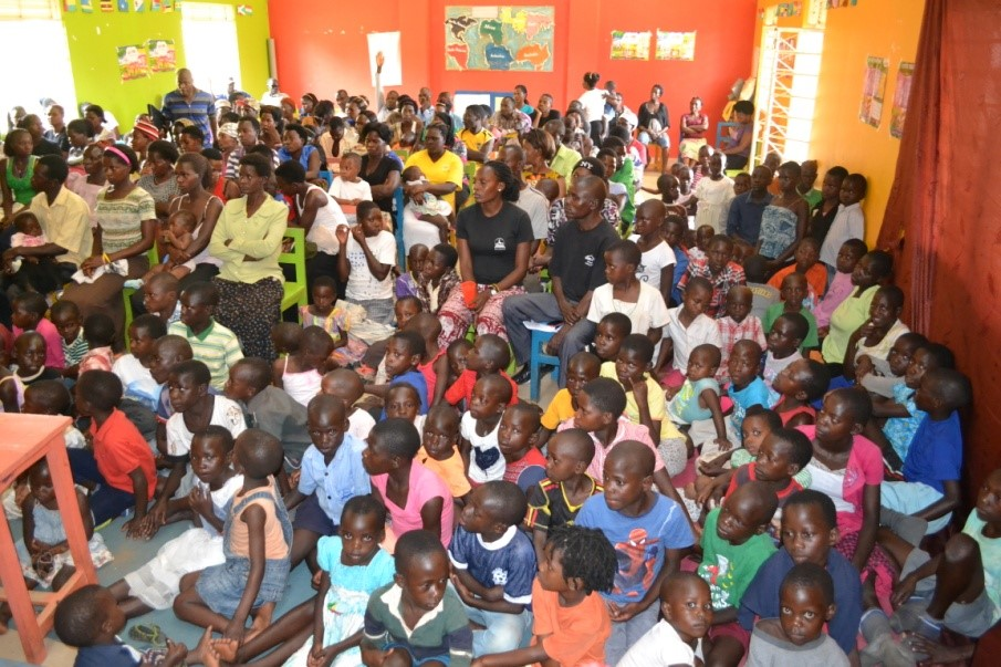 The turnout from the Katuuso community was incredible!