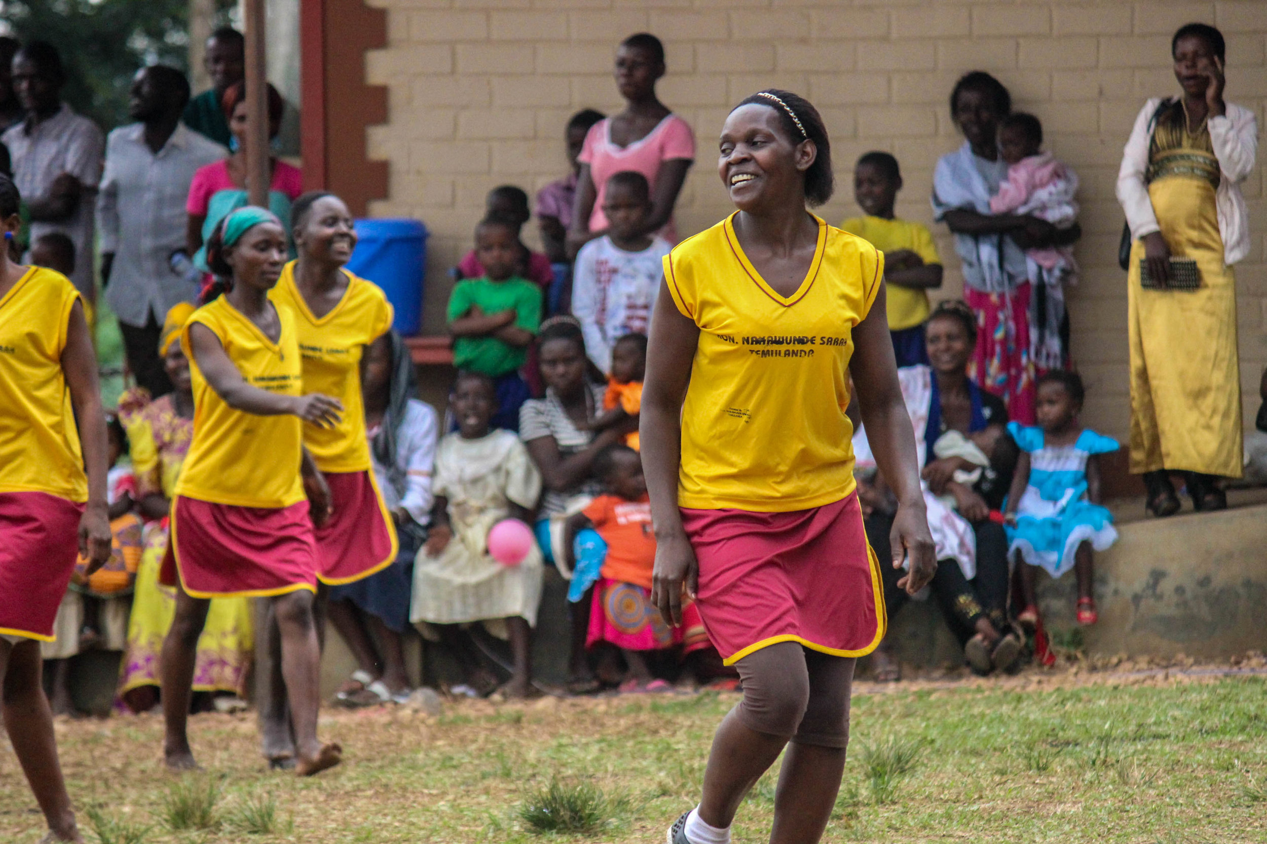 The parents vs teachers ladies netball match was a fierce event to watch for all. Teachers won in a tight match.