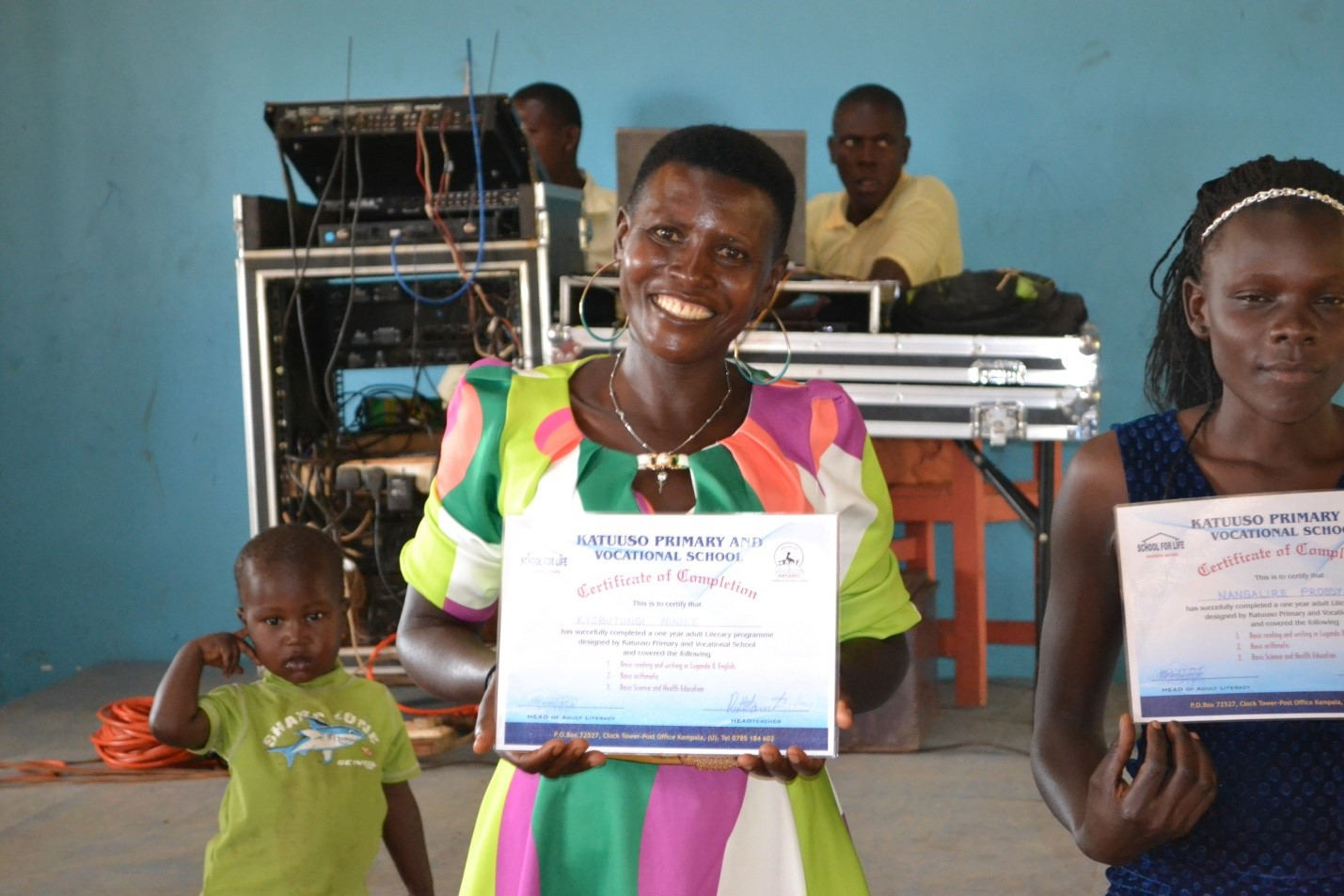 Winnie is one of the graduates from our Level 2 Adult Literacy Program.