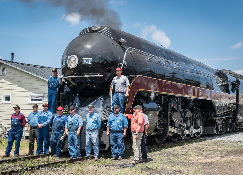 Crew members in Spencer, NC. May 28, 2015.