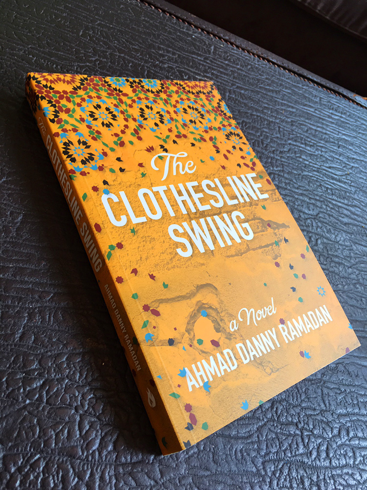 Book cover design for  The Clothesline Swing  for Nightwood Editions.