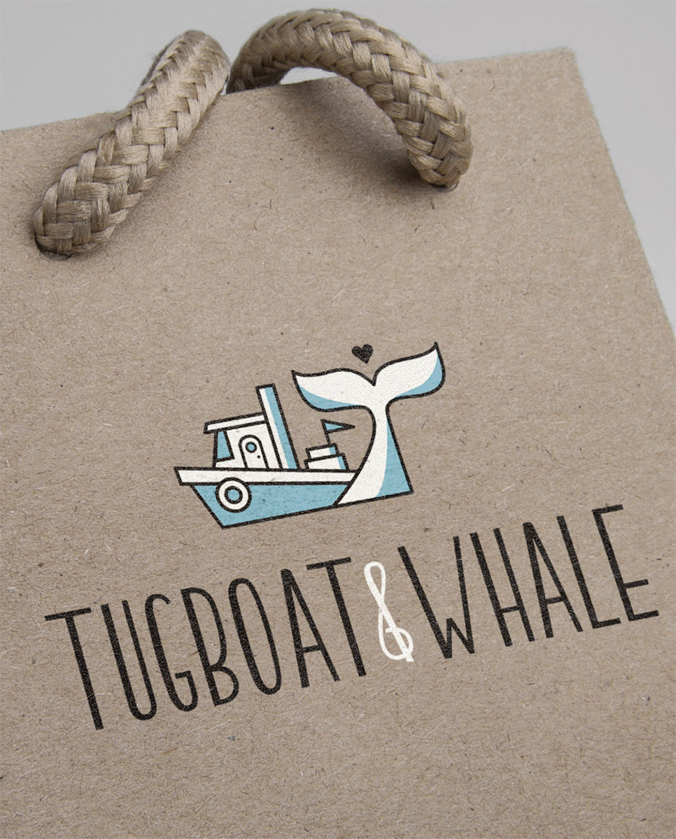 3-colour screen for Tugboat & Whale.