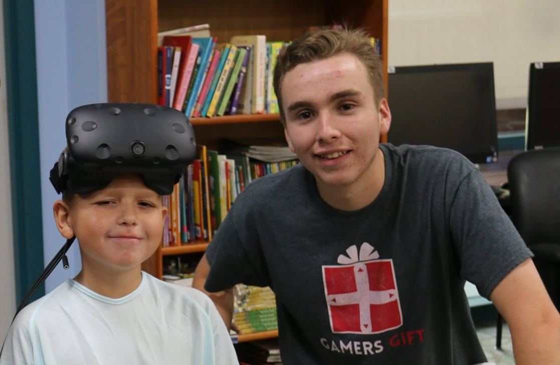 VR at Valley Children's Hospital